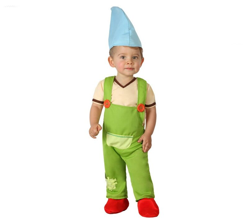 disfraz de duende bebé 800x709 - DISFRAZ DE DUENDE BEBÉ NIÑO