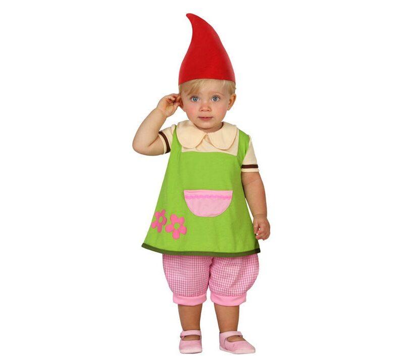 disfraz de duende bebé niña 800x709 - DISFRAZ DE DUENDE BEBÉ NIÑA