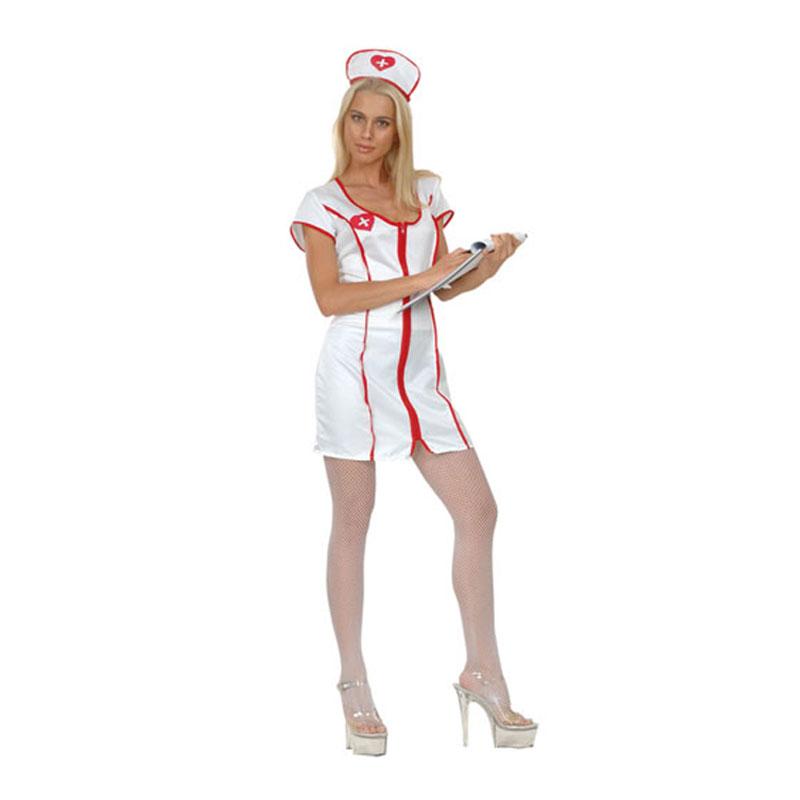 disfraz de enfermera mujer 1 - DISFRAZ DE ENFERMERA MUJER