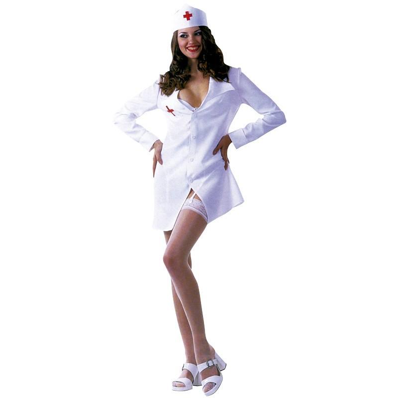 disfraz de enfermera sexy adulto talla 42 44 - DISFRAZ ENFERMERA SEXY MUJER
