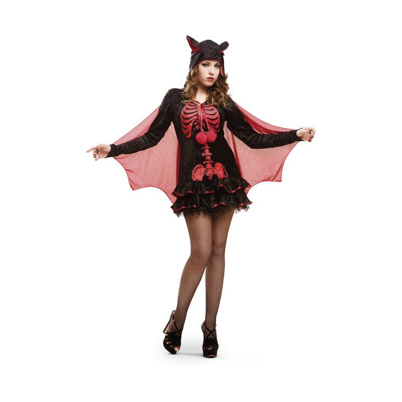 disfraz de esqueleto murcielago para mujer en varias tallas para halloween 62839 800x800 - DISFRAZ DE ESQUELETO MURCIÉLAGO MUJER