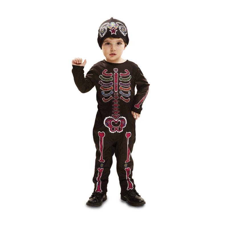disfraz de esqueleto para bebes y ninos en varias tallas para halloween 62668 800x800 - DISFRAZ ESQUELETO DIA DE LOS MUERTOS