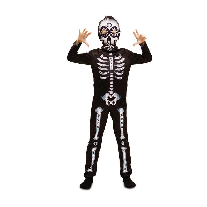 disfraz de esqueleto para ninos en varias tallas para halloween 62680 800x800 - DISFRAZ DE DIA DE LOS MUERTOS NIÑO