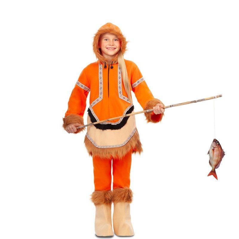 disfraz de esquimal naranja para nina 800x800 - DISFRAZ DE ESQUIMAL NARANJA NIÑA