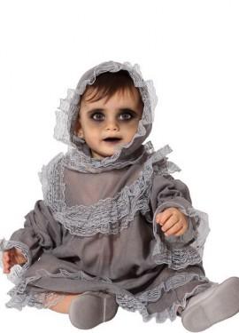 disfraz de fantasma para bebe - DISFRAZ DE BEBÉ HALLOWEEN