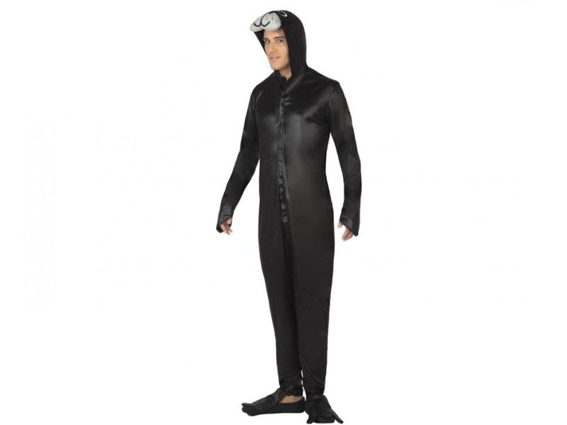 disfraz de foca adulto - DISFRAZ DE FOCA NEGRA PARA ADULTOS