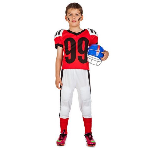 disfraz de futbol americano infantil - DISFRAZ DE JUGADOR DE RUGBY NIÑO