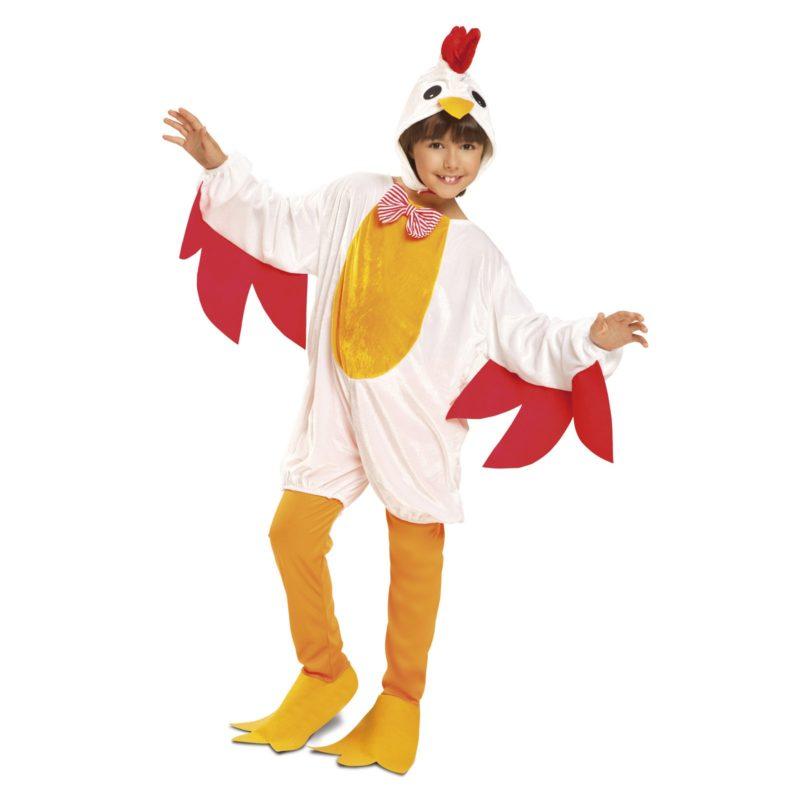 disfraz de gallina niña 800x800 - DISFRAZ DE GALLINA NIÑA