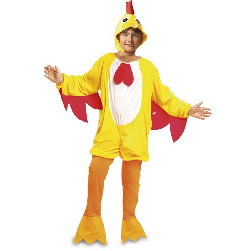 disfraz de gallo amarillo infantil 800x800 - DISFRAZ DE GALLO AMARILLO NIÑO