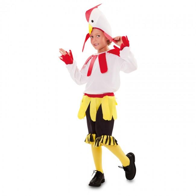disfraz de gallo blanco para nino - DISFRAZ DE GALLO INFANTIL