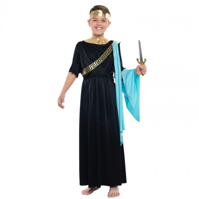 disfraz de griego negro para nino - DISFRAZ GRIEGO NEGRO NIÑO