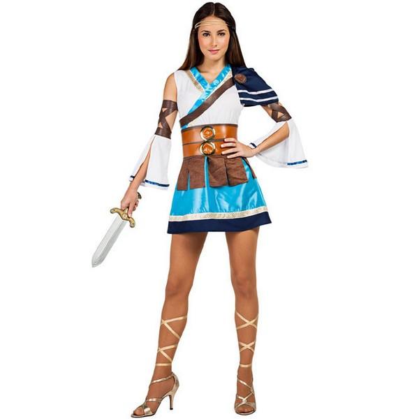 disfraz de guerrera griega mujer - DISFRAZ DE GUERRERA GRIEGA MUJER