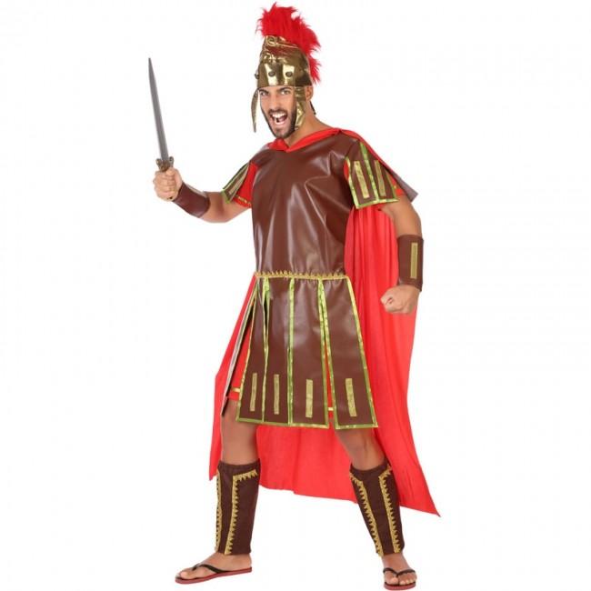 disfraz de guerrero romano adulto 1 - DISFRAZ DE GUERRERO ROMANO HOMBRE