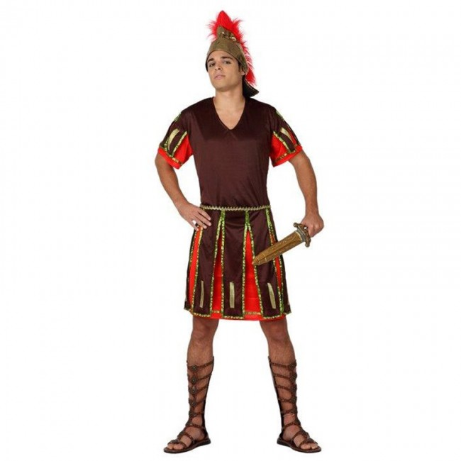 disfraz de guerrero romano hombre 1 - DISFRAZ DE  CENTURIÓN ROMANO HOMBRE