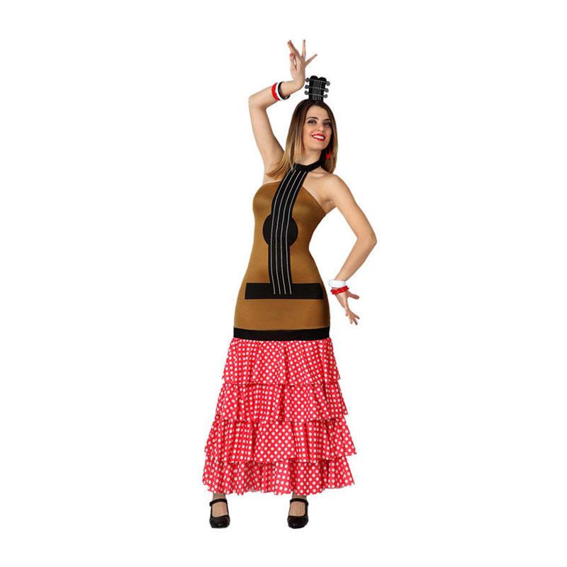 disfraz de guitarra flamenca mujer - DISFRAZ DE GUITARRA FLAMENCA MUJER