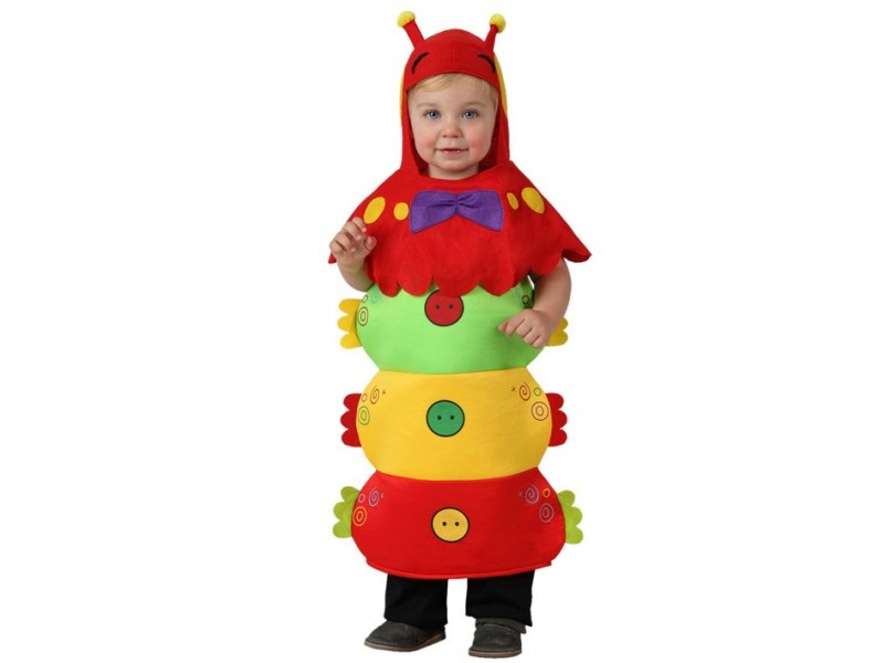 disfraz de gusano bebe - DISFRAZ DE GUSANO BEBE