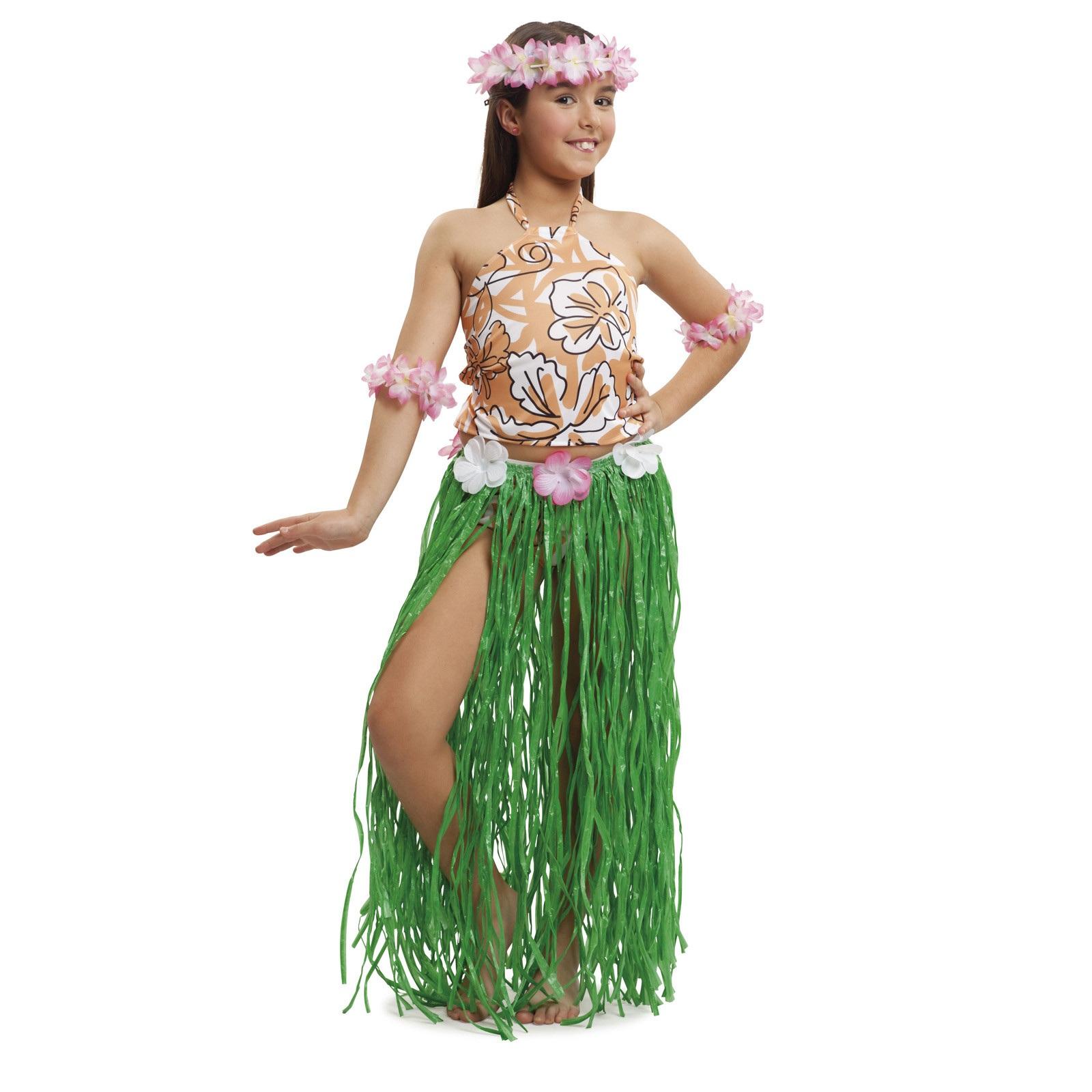 disfraz de hawaiana chic niña 203539mom - DISFRAZ DE HAWAIANA CHIC NIÑA
