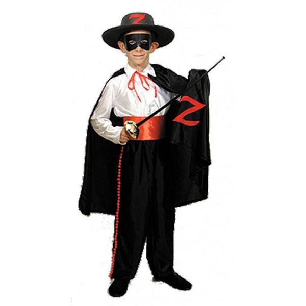 disfraz de heroe enmascarado 1 - DISFRAZ DE ZORRO NIÑO