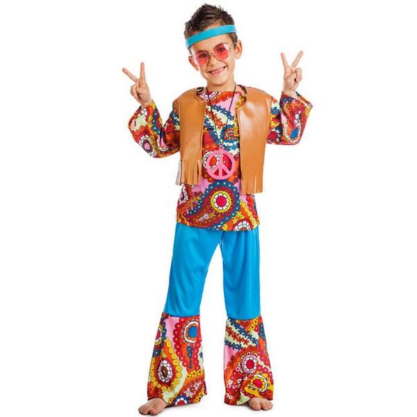 disfraz de hippie chaleco para nino - DISFRAZ DE HIPPIE CHALECO NIÑO