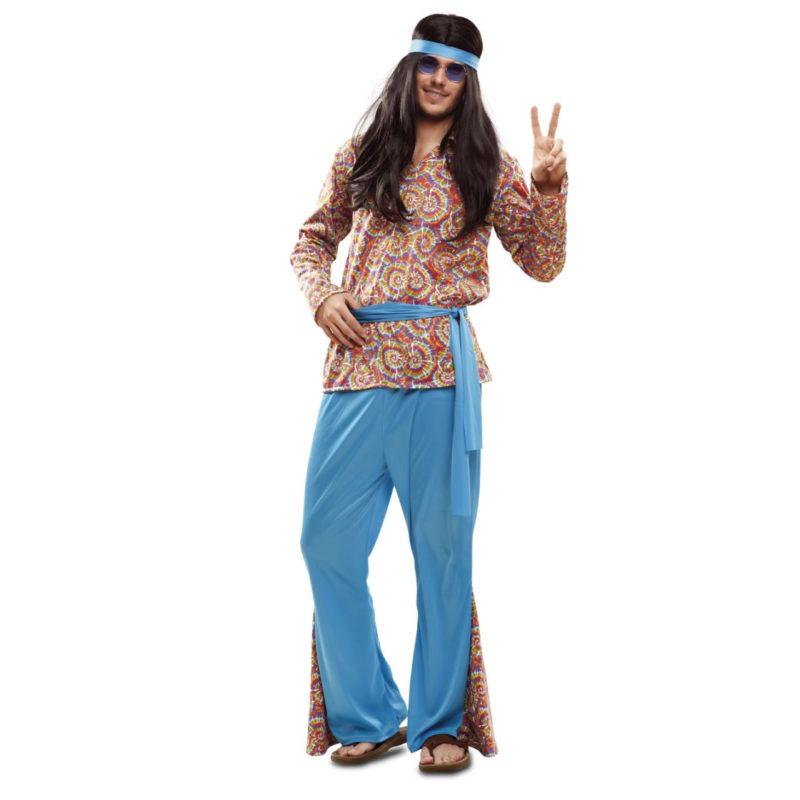 disfraz de hippie psicodélico hombre 800x800 - DISFRAZ HIPPIE PSICODELICO HOMBRE