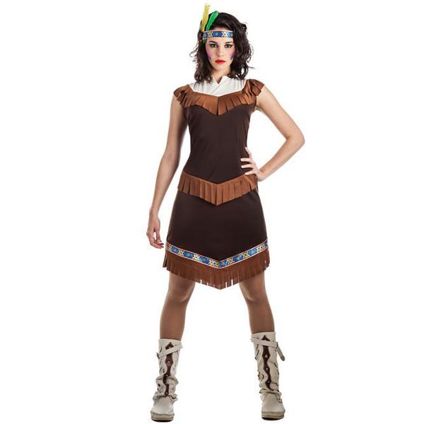 disfraz de india apache para mujer - DISFRAZ DE INDIA APACHE MUJER