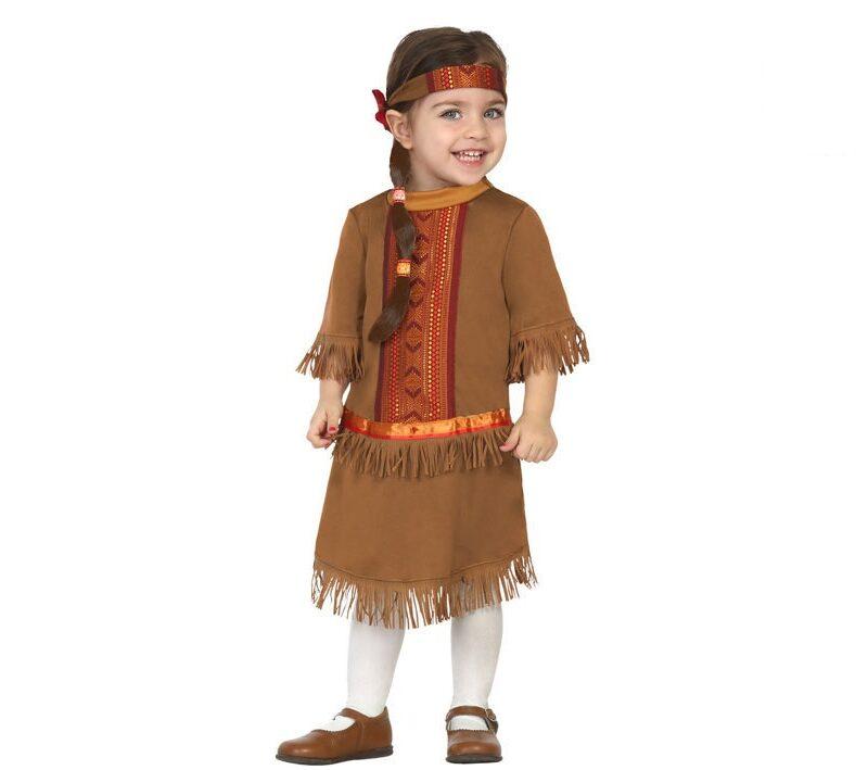 disfraz de india bebé 800x709 - DISFRAZ DE INDIA BEBÉ