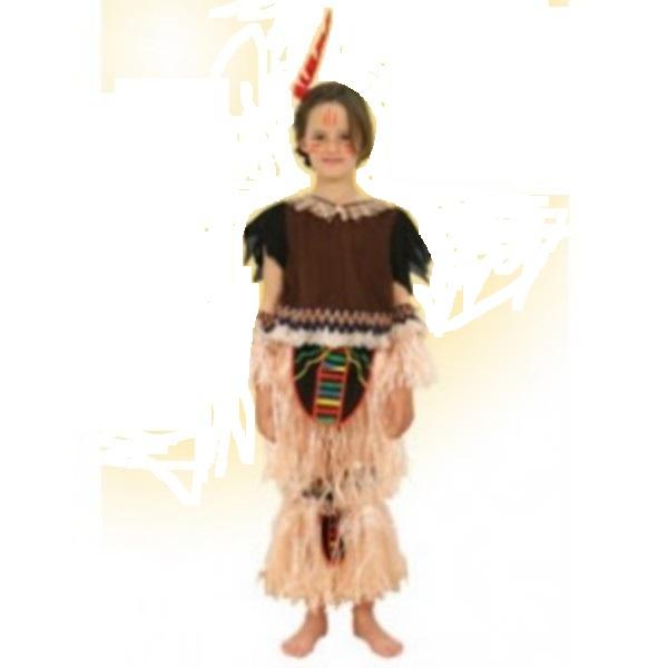 disfraz de india flecos - DISFRAZ DE INDIA FLECOS INFANTIL