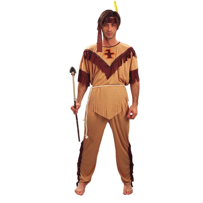 disfraz de indio adulto - DISFRAZ DE INDIO HOMBRE