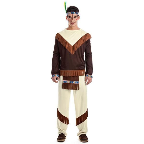 disfraz de indio apache adulto - DISFRAZ DE INDIO APACHE ADULTO