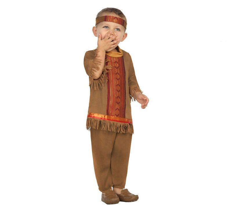 disfraz de indio bebé 800x709 - DISFRAZ DE INDIO BEBÉ