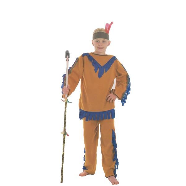 disfraz de indio naranja niño. - DISFRAZ DE INDIO NARANJA NIÑO