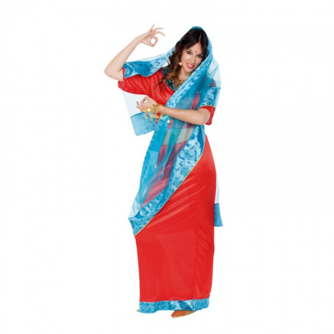 disfraz de indu bollywood mujer - DISFRAZ DE INDU BOLLYWOOD MUJER