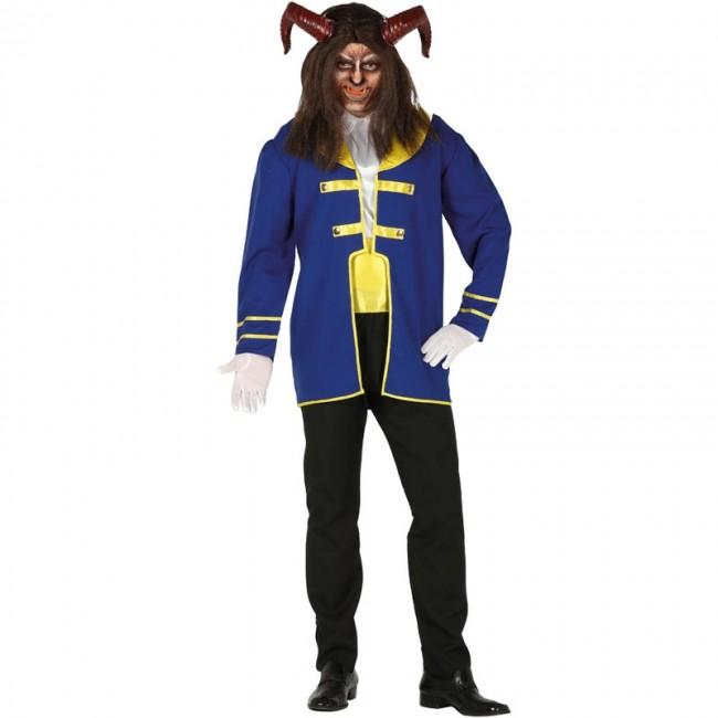 disfraz de la bestia para hombre - DISFRAZ DE BESTIA ADULTO