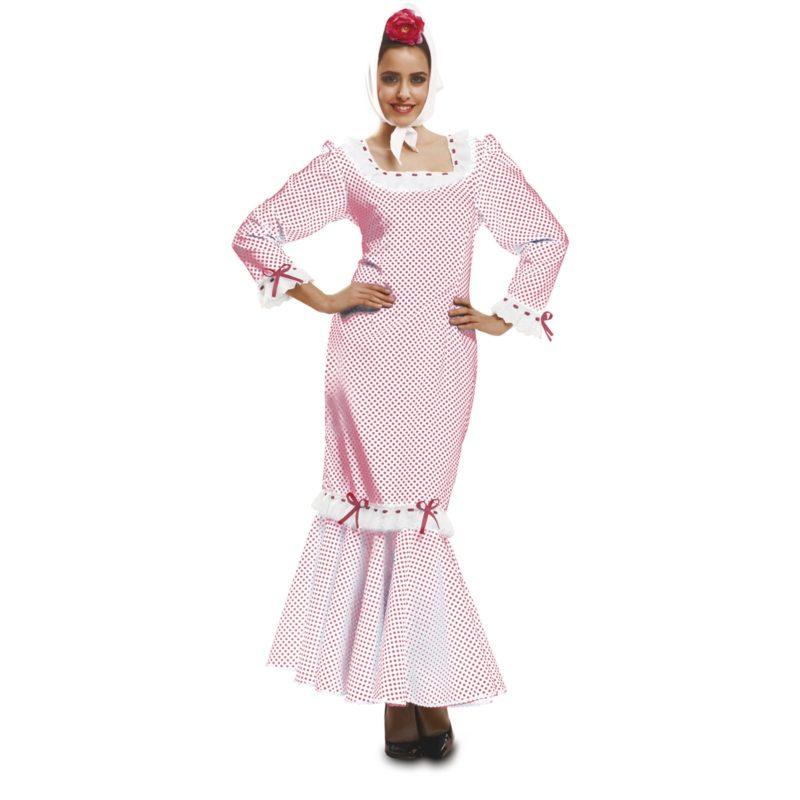 disfraz de madrileña blanco mujer 800x800 - DISFRAZ DE MADRILEÑA BLANCO MUJER