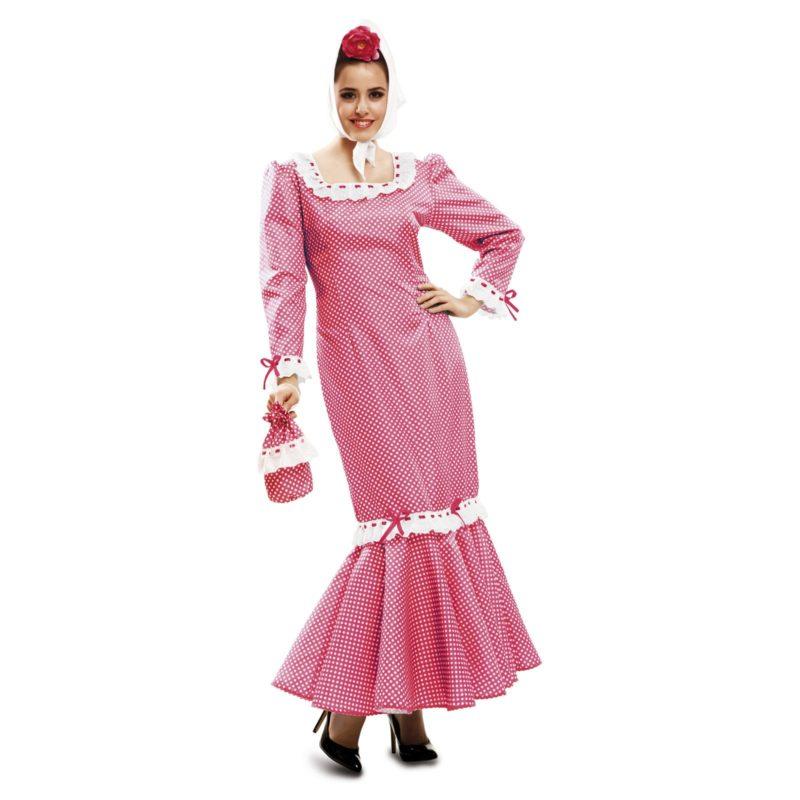 disfraz de madrileña rosa mujer 800x800 - DISFRAZ DE MADRILEÑA ROSA MUJER