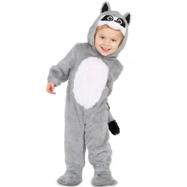 disfraz de mapache para bebe - DISFRAZ DE MAPACHE PARA BEBÉ