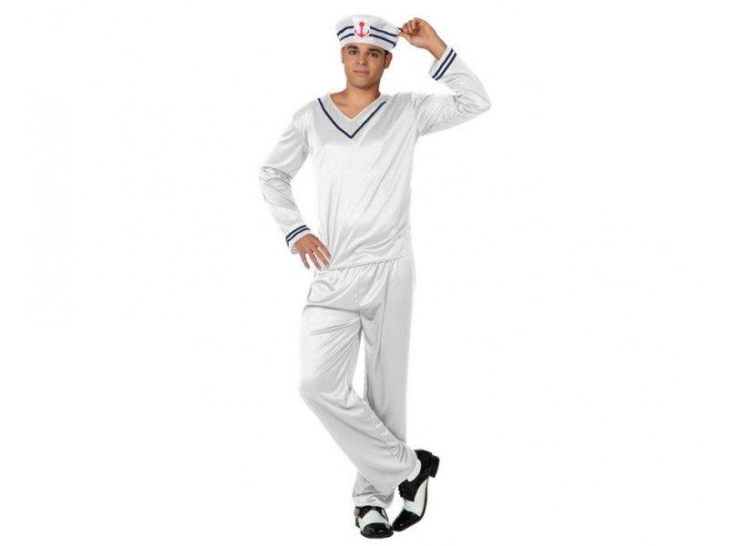 disfraz de marinero blaco hombre 800x600 - DISFRAZ DE MARINERO BLANCO HOMBRE