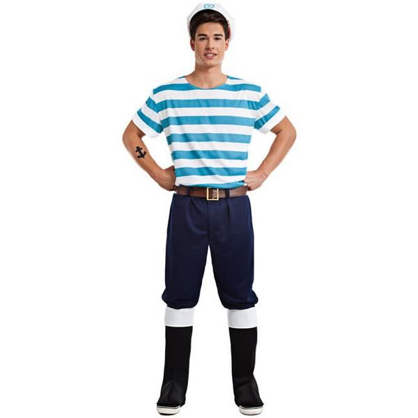 disfraz de marinero pescador para adulto - DISFRAZ DE LOBO DE MAR ADULTO