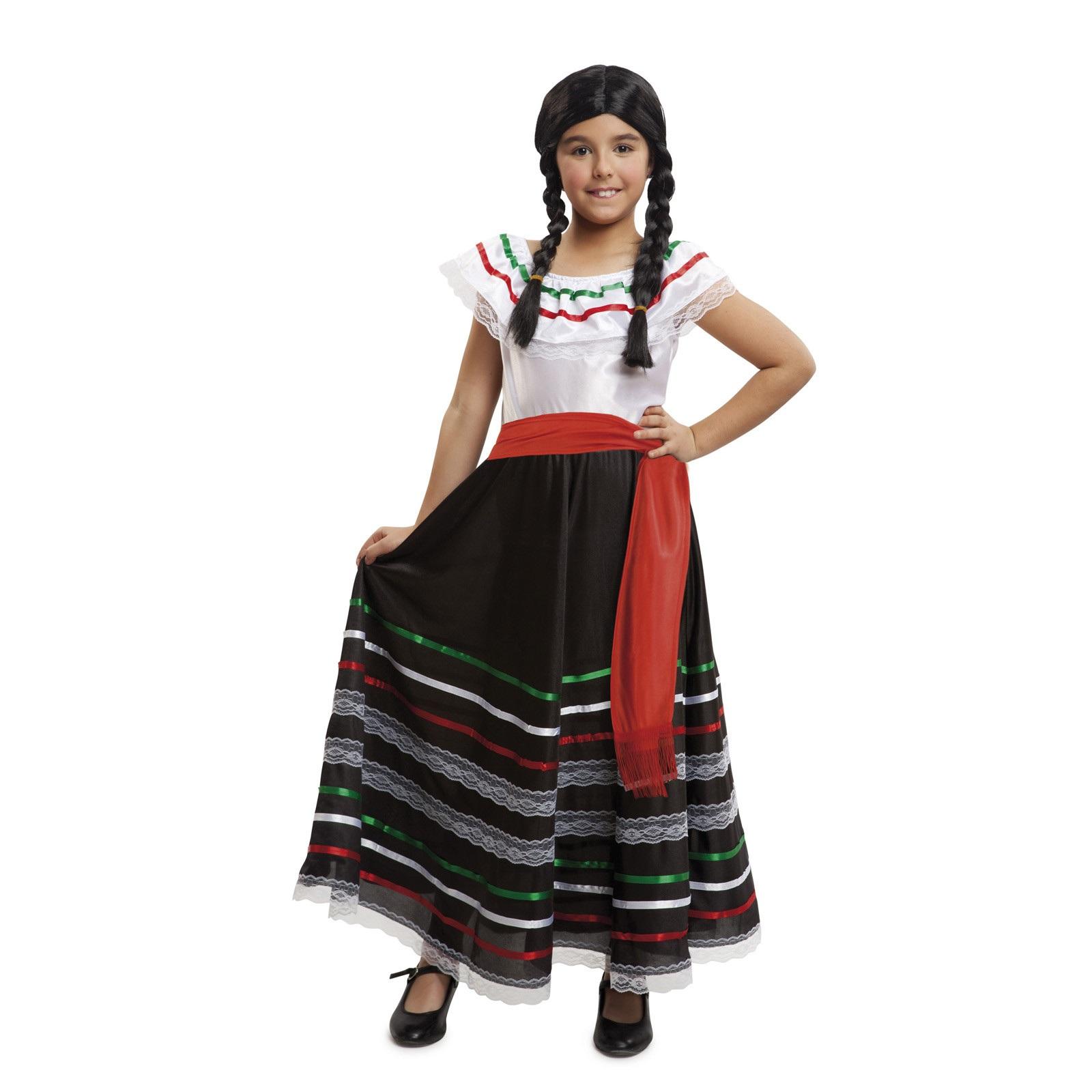 disfraz de mejicana niña 203320mom - DISFRAZ DE MEJICANA NIÑA