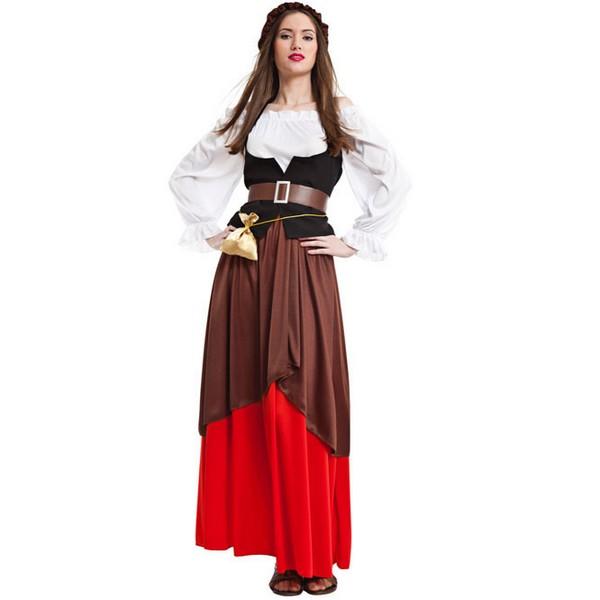 disfraz de mesonera para mujer - DISFRAZ DE MESONERA MEDIEVAL MUJER