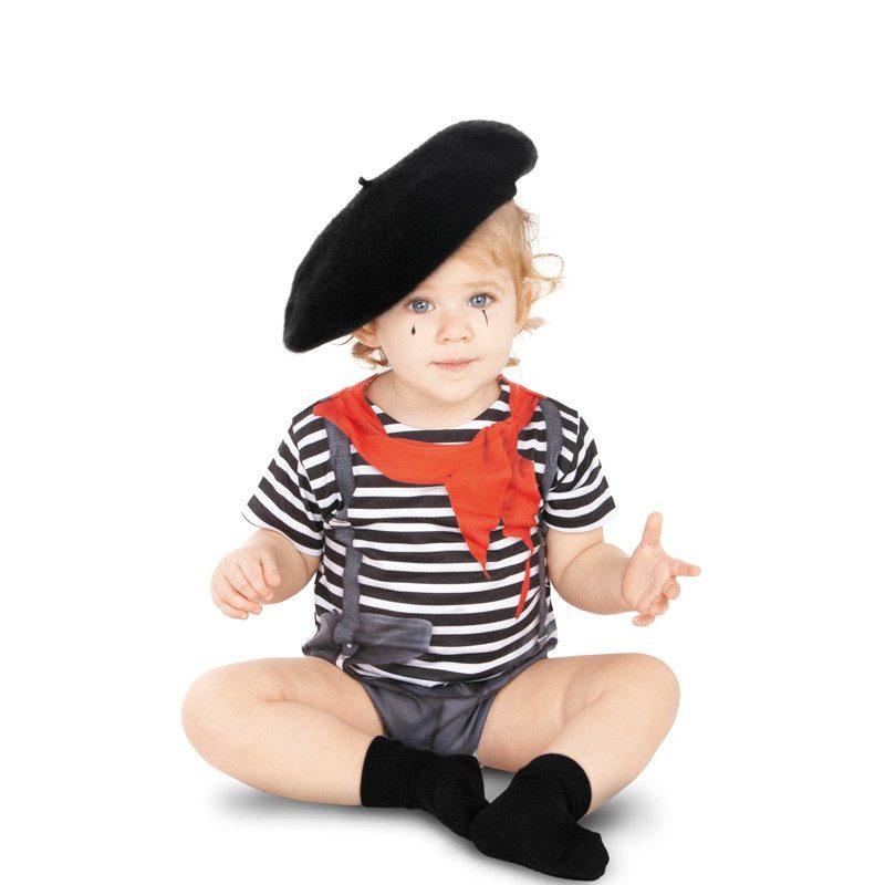 disfraz de mimo para bebe 800x800 - DISFRAZ DE MIMO CIRCO BEBÉ
