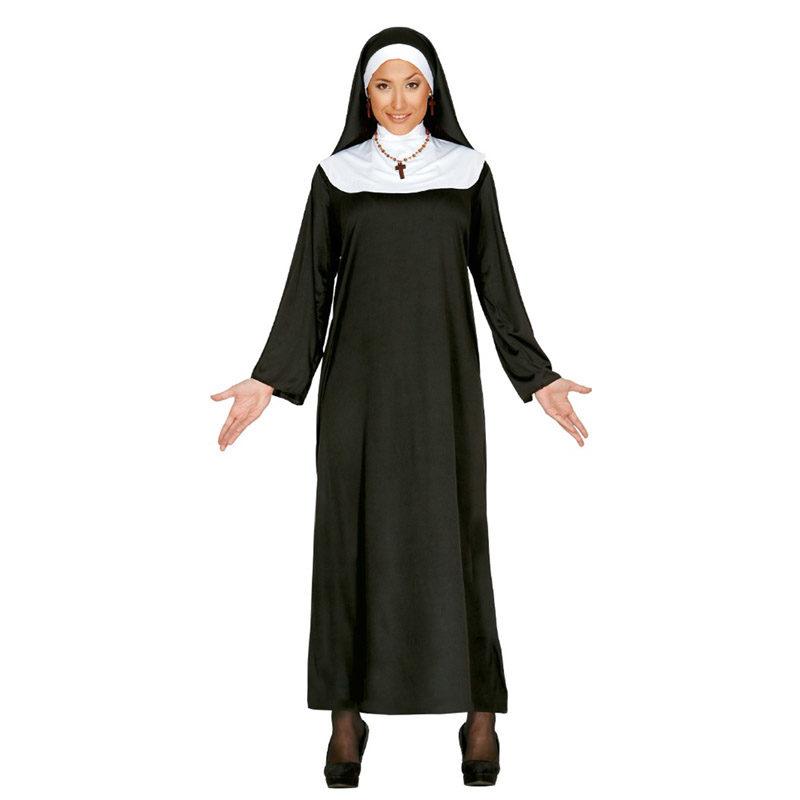 disfraz de monja mujer  800x800 - DISFRAZ DE MONJA ADULTO