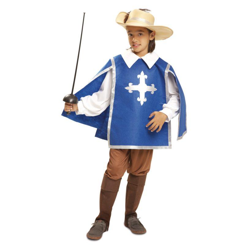 disfraz de mosquetero azul niño 800x800 - DISFRAZ DE MOSQUETERO NIÑO