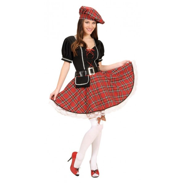 disfraz de mujer escocesa - DISFRAZ DE ESCOCESA MUJER