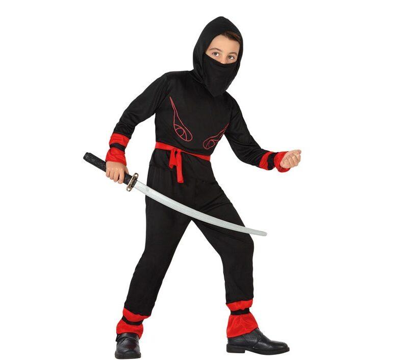 disfraz de ninja infantil 800x709 - DISFRAZ DE NINJA INFANTIL