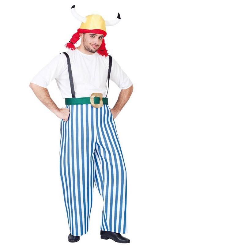 disfraz de obélix adulto - DISFRAZ DE OBÉLIX ADULTO