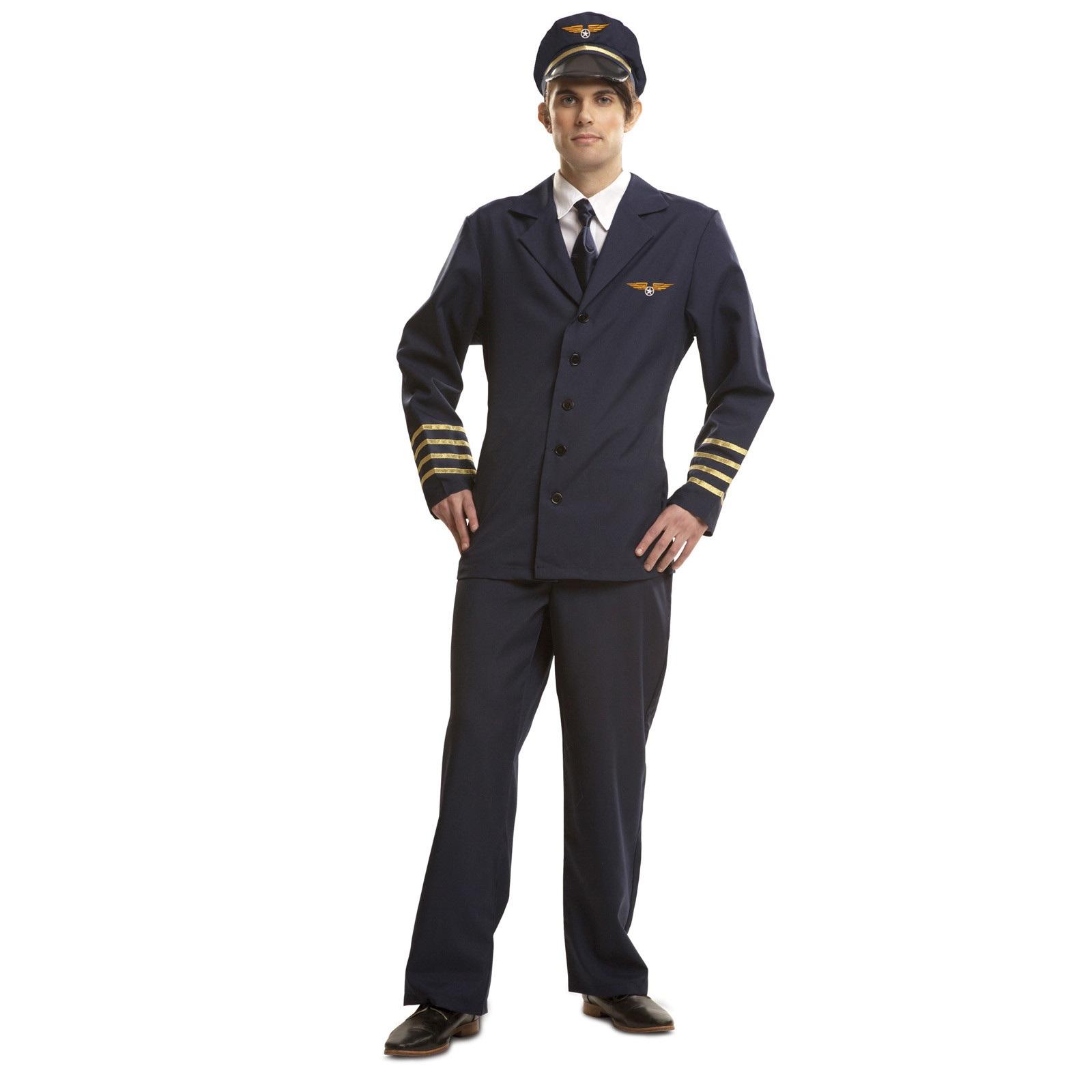 disfraz de piloto avión hombre 200971mom - DISFRAZ DE PILOTO AVION HOMBRE