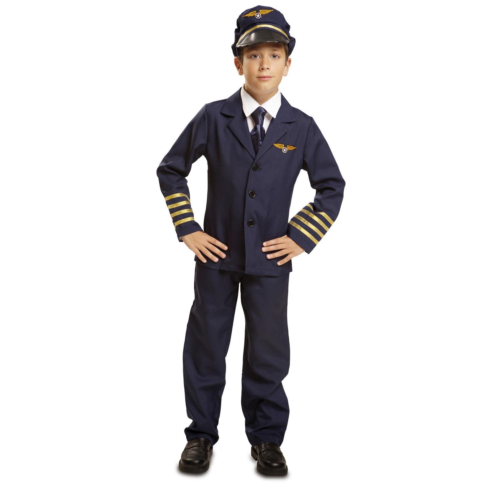 disfraz de piloto vuelo niño 200905mom - DISFRAZ DE PILOTO DE VUELO NIÑO