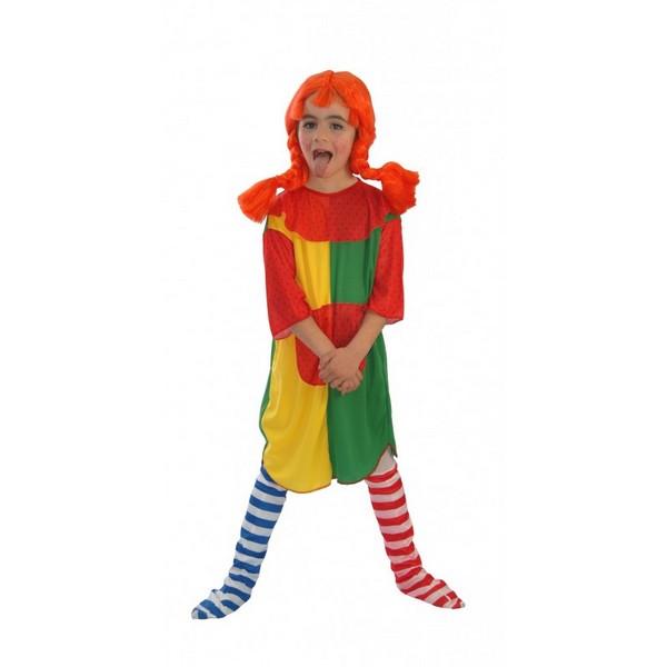 disfraz de pipi niña - DISFRAZ DE PIPI CALZASLARGAS NIÑA