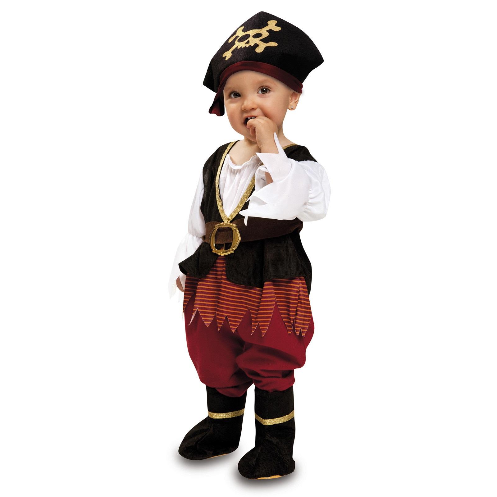 disfraz de pirata bebé niña 204397mom - DISFRAZ DE PIRATA BEBE NIÑA